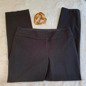 LOFT Stretch Black Pants Slim Julie Fit Size 10
